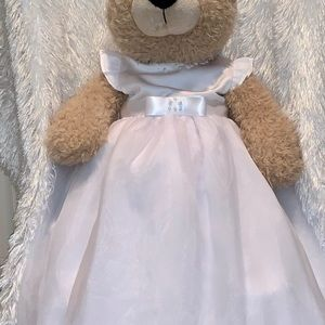 NWT BAPTISM-CHRISTENING GOWN WITH BONNET